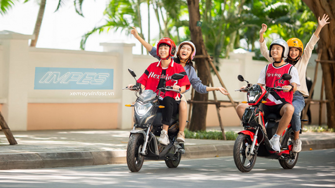 vinfast impes xe máy điện cho học sinh, sinh viên