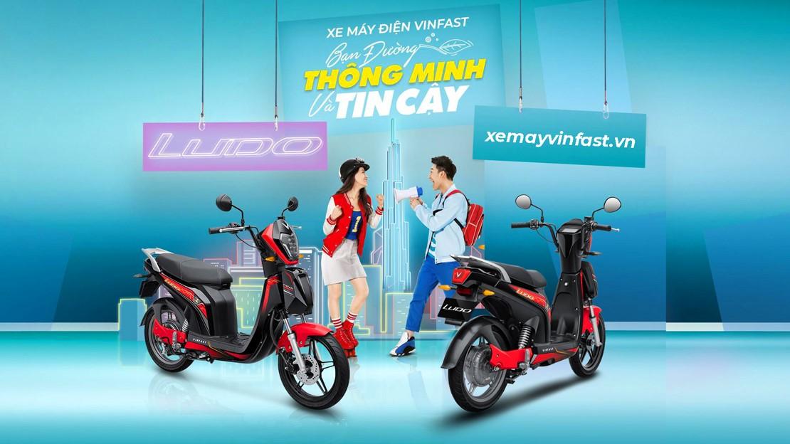 vinfast ludo 2020 xe máy điện học sinh sinh viên